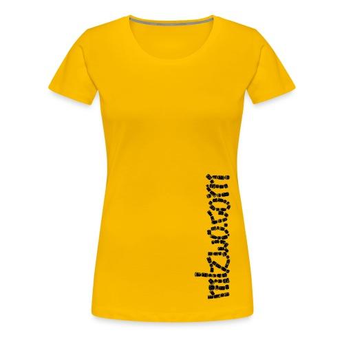mlzwo.com . lenses . girls - Frauen Premium T-Shirt