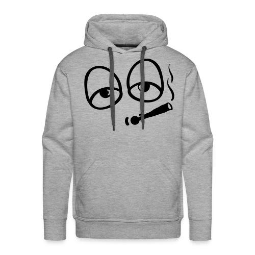Pullover, Smoking Face - Männer Premium Hoodie