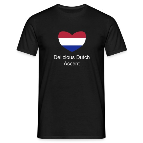 Delicious Dutch Accent T-Shirt - Men's T-Shirt