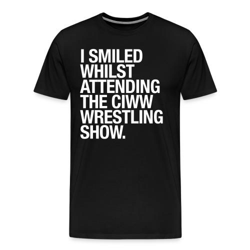 Adults CIWW - Smile Shirt - Men's Premium T-Shirt