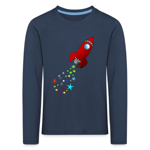 Rocket to the Moon - Kids' Premium Longsleeve Shirt