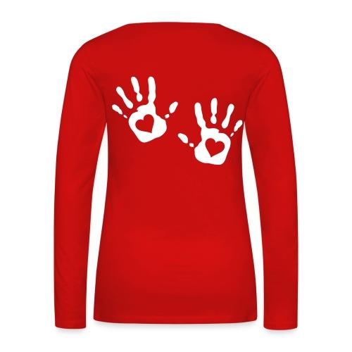 Askim Longshirt - Frauen Premium Langarmshirt