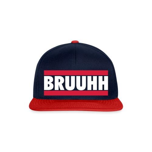 BRUUHH Flat Cap - Snapback Cap