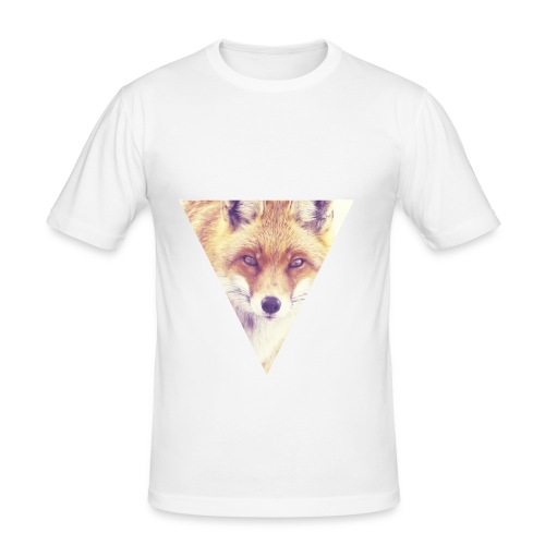 #Fox - Männer Slim Fit T-Shirt