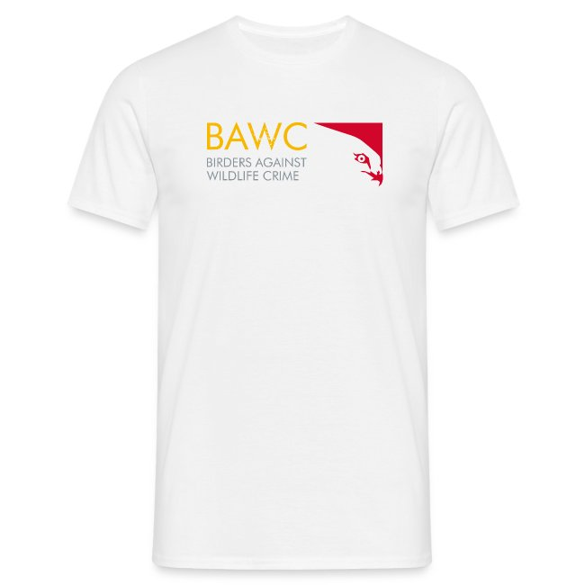BAWC Logo and #weseeyou Hashtag Men's White T-Shirt