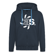 Pullover & Hoodies ~ Männer Premium Kapuzenjacke ~ Zipper - ASYNCRON 2.01 dark