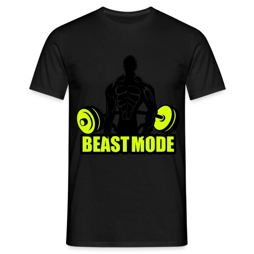 MusclePain Beast MODE Workout Shirt - Männer T-Shirt