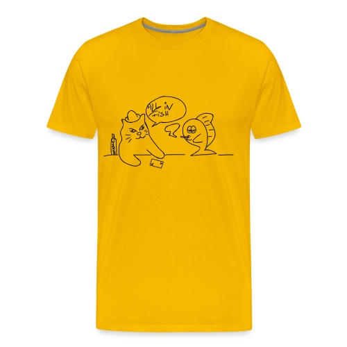 Pokerfish - Männer Premium T-Shirt