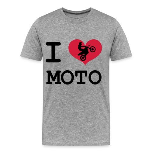 I LOVE MOTO #2 - Koszulka męska Premium