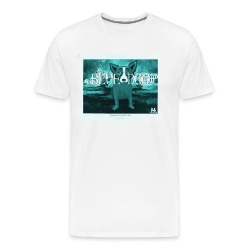 Monday - T-Shirt || BLUE DOG - Männer Premium T-Shirt