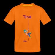 Camisetas ~ Camiseta premium niño ~  TINA RAPELANDO (cast)