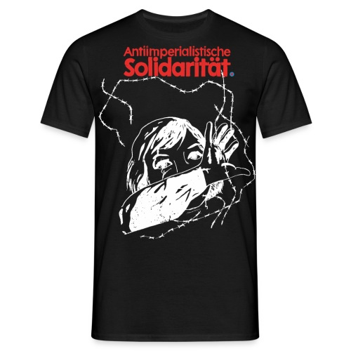 antiimperialistische Solidarität - Männer T-Shirt