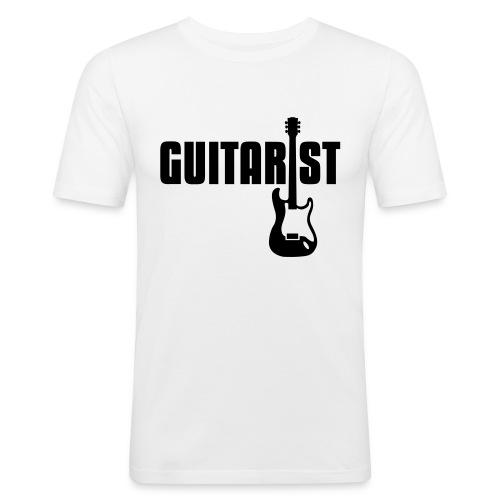 Guitarist Tee - Men's Slim Fit T-Shirt