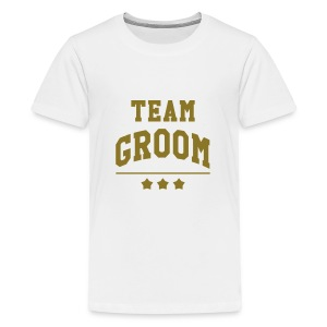 Team Groom - Wedding Tee shirts - T-shirt Premium Ado
