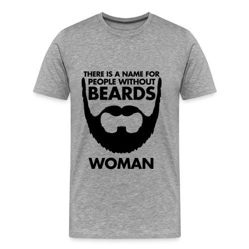 T-Shirt Beards - Maglietta Premium da uomo