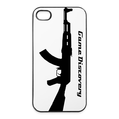 Gun Iphone 4/4S Hard Case - iPhone 4/4s hard case