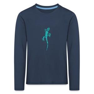 lézard grimpant - T-shirt manches longues Premium Enfant