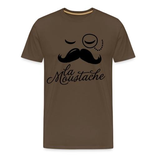 T-Shirt la moustache - Maglietta Premium da uomo
