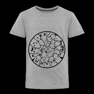 Doodle Fingers - Børne premium T-shirt - Børne premium T-shirt