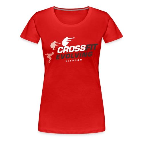 Kilburn T-Shirt Women (red) - Women's Premium T-Shirt