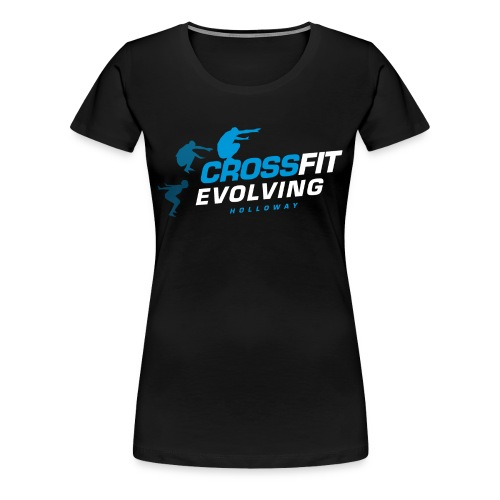 Holloway T-Shirt Women (black) - Women's Premium T-Shirt
