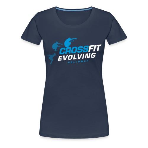 Holloway T-Shirt Women (navy) - Women's Premium T-Shirt