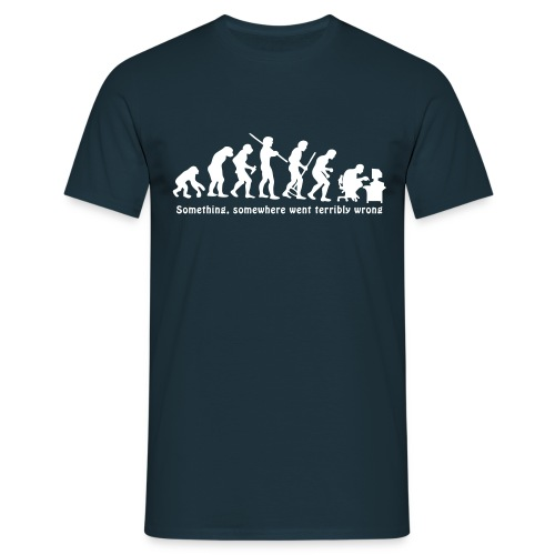 Something went wrong - Mannen T-shirt