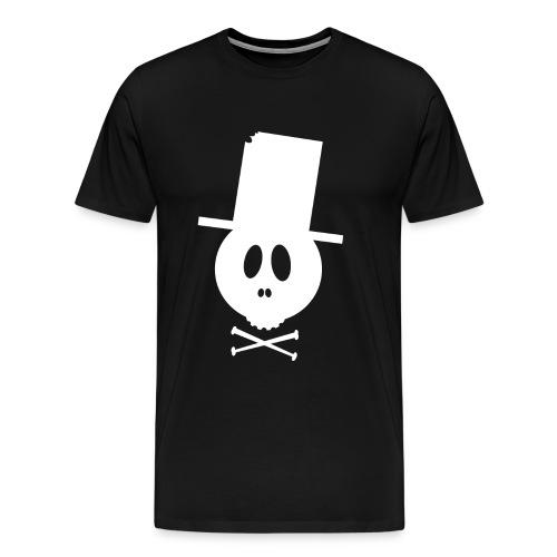 Bonehead White Shirt - Männer Premium T-Shirt