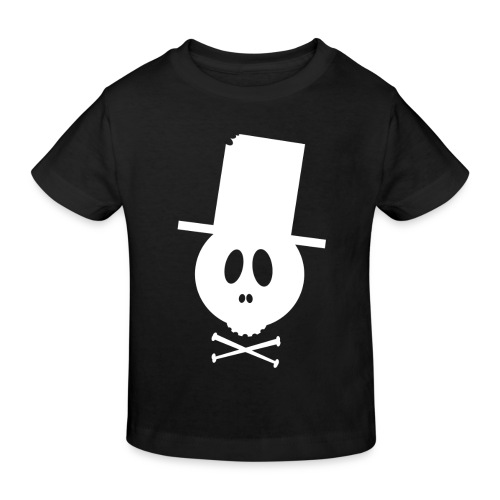 Bonehead White ORGANIC Kids - Kinder Bio-T-Shirt
