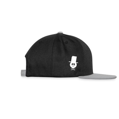 Bonehead white cap  - Snapback Cap