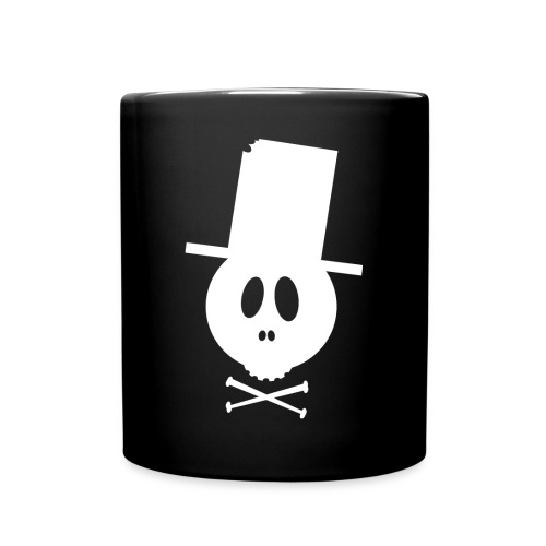 Bonehead white tasse  - Tasse einfarbig