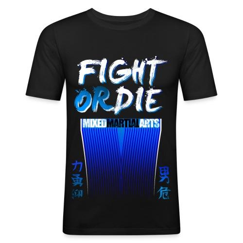 Fight or Die - Maglietta aderente da uomo
