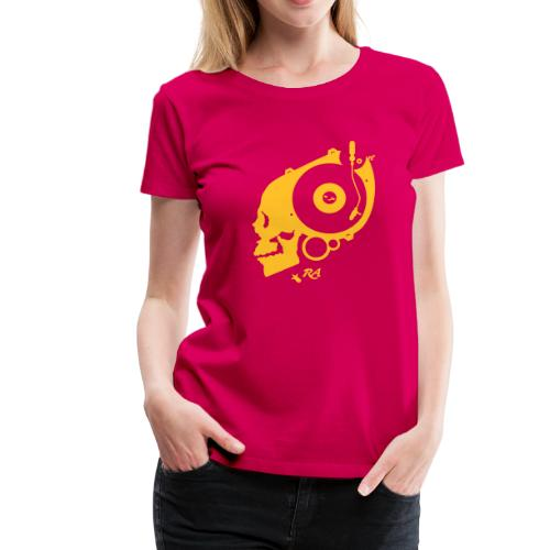 Remember Analog Skull © forbiddenshirts.de - Frauen Premium T-Shirt