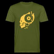 T-Shirts ~ Männer Bio-T-Shirt ~ Remember Analog Skull – Organic