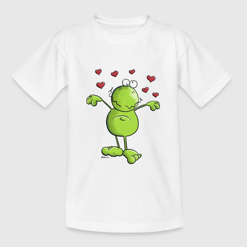 Kikker in de liefde - Kikkers Shirts - Teenager T-shirt