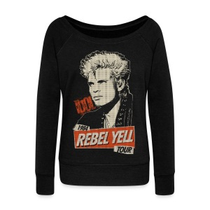 Rebel Yell - Women's Boat Neck Long Sleeve Top