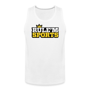 Men's Premium Tank Top - Limited Edition RULE'M SPORTS Men's Breathable Tank Top.