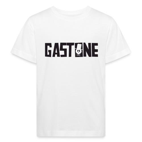 Logo White ORGANIC Kids Shirt - Kinder Bio-T-Shirt