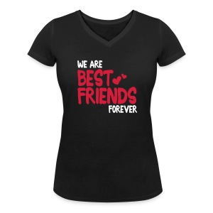 we are best friends forever i 2c Tee shirts - T-shirt col V Femme
