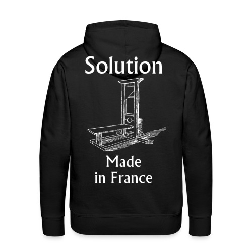 Solution Made in France Hoodie - Sweat-shirt à capuche Premium pour hommes