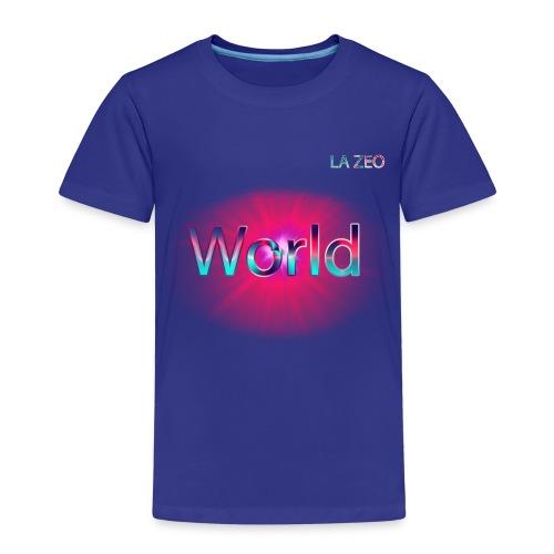 World T-shirt - Kinder Premium T-Shirt