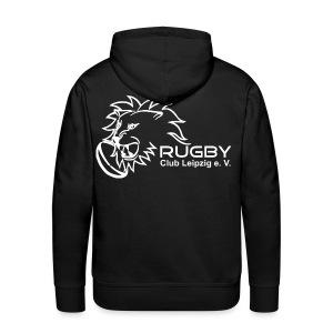 Kapuzenpullover schwarz Männer Rugby Club Leipzig - Männer Premium Hoodie