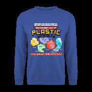 Hoodies & Sweatshirts ~ Men's Sweatshirt ~ Multicoloured Bits of Plastic - Jumper