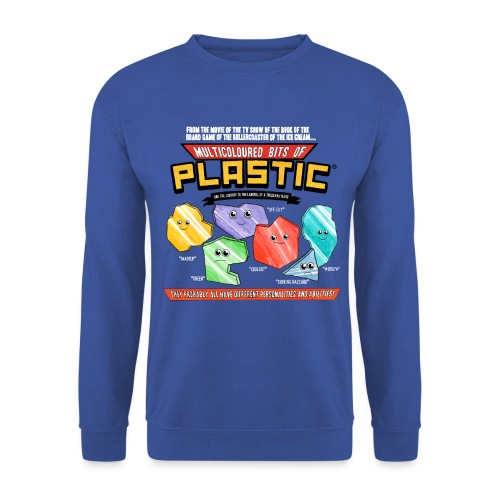 Multicoloured Bits of Plastic - Jumper - Men's Sweatshirt