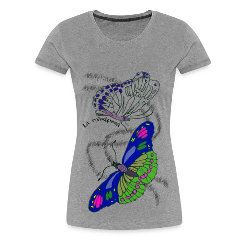La Mariposa - Frauen Premium T-Shirt