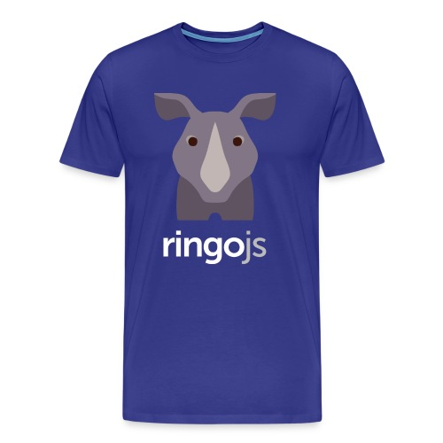RingoJS Blue Shirt - Men's Premium T-Shirt