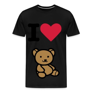 i love teddy - Men's Premium T-Shirt