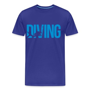 diving - Men's Premium T-Shirt