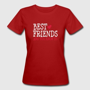 best friends and you know it ii 2c T-shirts - Ekologisk T-shirt dam