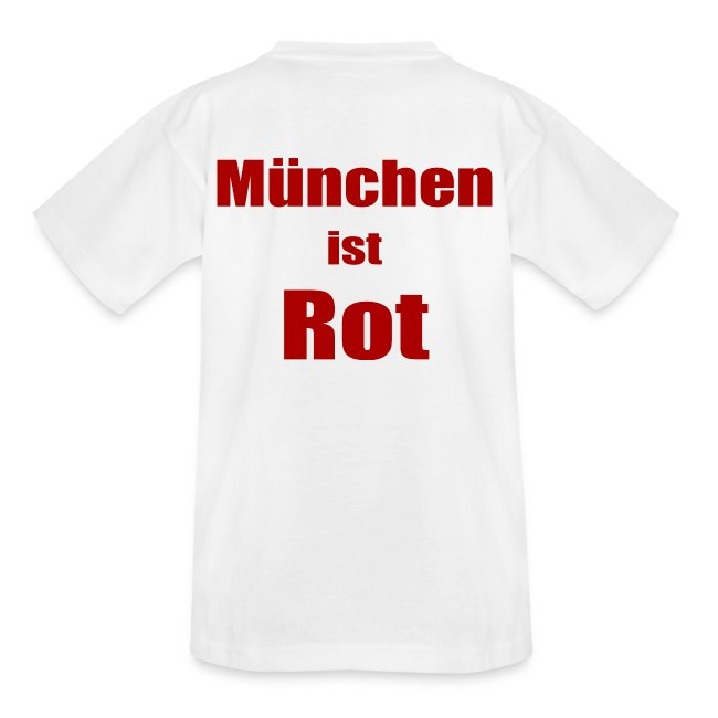 München ist Rot - Druck Hinten